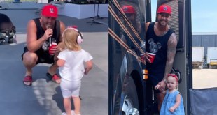 Brett Young & Presley Elizabeth Young; Photo Courtesy of Taylor Mills Young