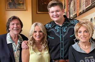 Gus Arrendale, Rhonda Vincent, Alex Miller and Jeannie Seely; Photo Provided By Roger Miller