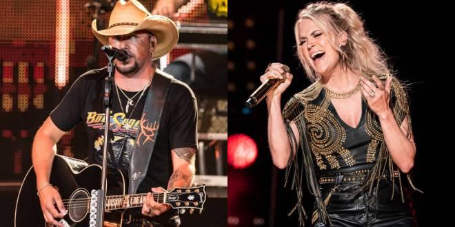 Jason Aldean & Carrie Underwood; Photos By Andrew Wendowski