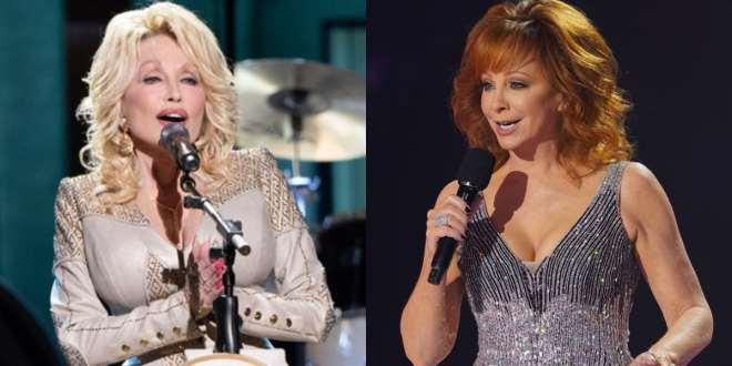 Dolly Parton and Reba McEntire; Photo Courtesy of CMA