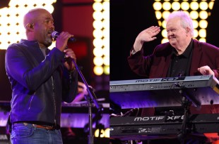 Darius Rucker & Charley Pride's Band Leader Danny Hutchins; Photo Courtesy of John Shearer/Getty Images for CMT