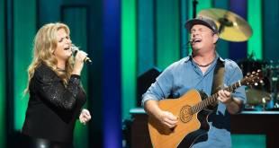 Trisha Yearwood & Garth Brooks; Photo Courtesy of Chris Hollo/Opry