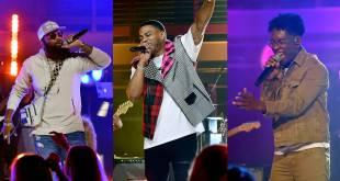 Nelly, BRELAND & Blanco Brown; Photo Courtesy of CMT