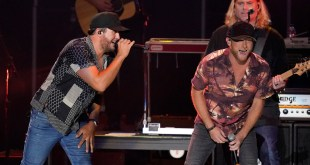 Luke Bryan & Cole Swindell; Photo Courtesy of ABC/CMA Summer Jam