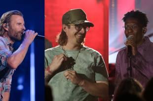 Dierks Bentley, HARDY, BRELAND; Photo Courtesy of ABC/CMA Summer Jam