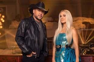 Jason Aldean & Carrie Underwood; Photo Provided