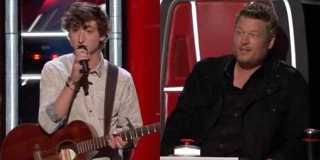 Berritt Haynes and Blake Shelton; Photo Courtesy of NBC's 'The Voice'