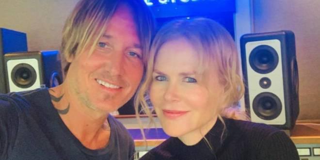 Keith Urban and Nicole Kidman; Photo Courtesy of Instagram