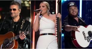 Eric Church, Gabby Barrett, Luke Combs; Photos Courtesy ABC/ CMA Summer Jam