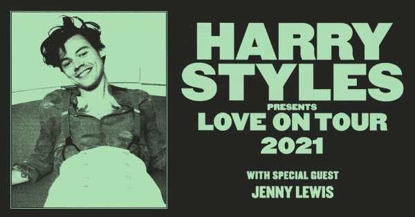 Harry Styles 'Love On Tour'