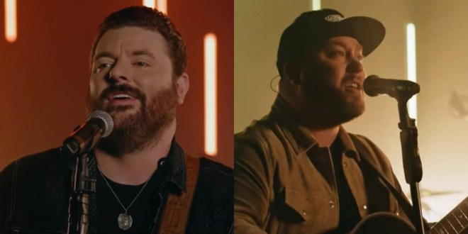 Chris Young & Mitchell Tenpenny; Photo Courtesy of The Kelly Clarkson Show YouTube