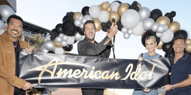 Lionel Richie, Luke Bryan, Katy Perry & Ryan Seacrest; Photo Courtesy of 'American Idol'/Instagram