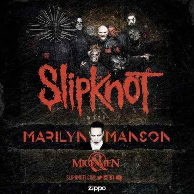 SLIPKNOT, Marilyn Manson, Of Mice & Men Tour