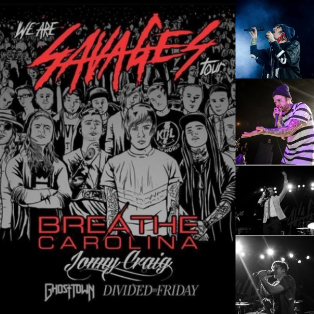 Breathe Carolina brings the savages into Philadelphia