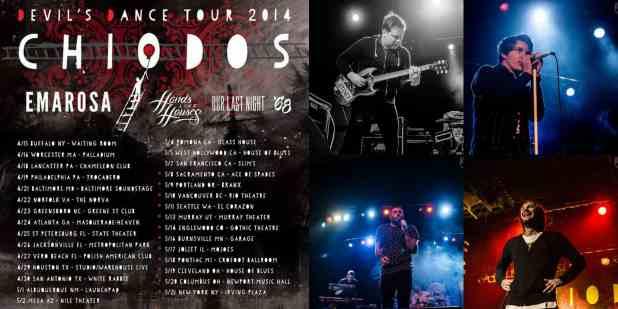 Chiodos unleashes the devil into Philadelphia for their Devils Dance Tour