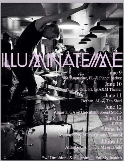 Illuminate Me announces tour dates