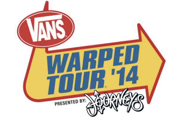 Warped Tour 2014 Bands Announced