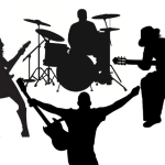 band-silhouette