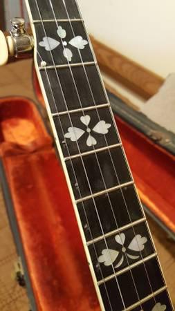 1931 Gibson Tb2 Flathead Banjo