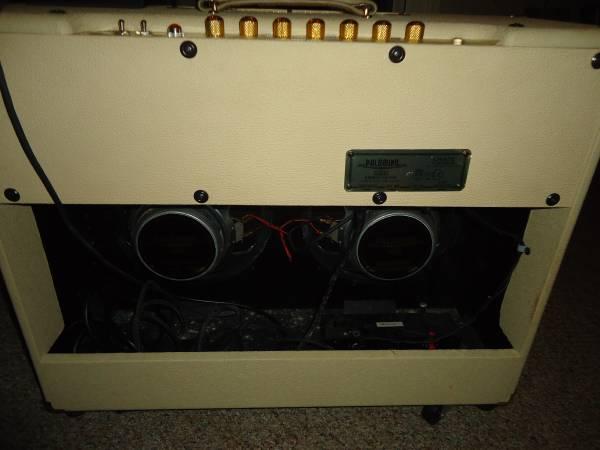 Crate – Palomino V32 – 2 x 12 Speaker – Tube Amp – Blonde w/Cover