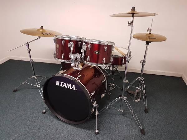 Tama Drums + Meinl Cymbals