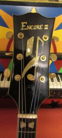 Vintage Barney Kessel Copy Hollowbody Guitar Japan RARE!