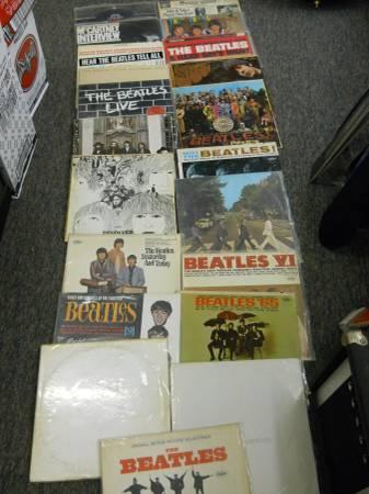 20 % OFF BEATLES LP's