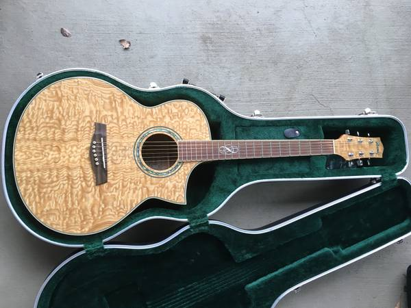 Ibanez Acoustic/Electric Guitar w/ Hard Case