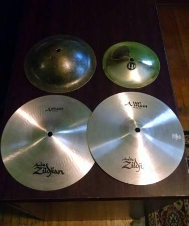 Accent cymbals Splash Bell Zildjian LP