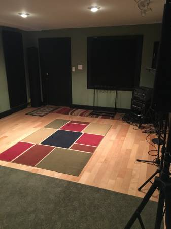 Secure Clean Rehearsal Space – Hourly/Monthly