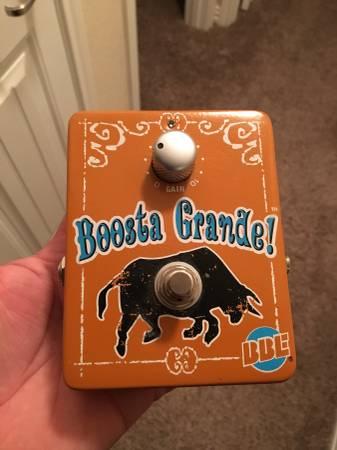BBE Boosta Grande Guitar Effect Pedal