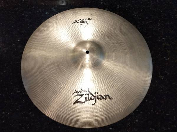Avedis Zildjian 20 medium ride cymbal