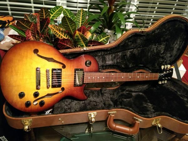 2017 Gibson Les Paul ES Memphis w COA & OHSC