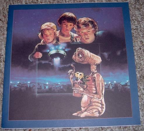 E.T. The Extra Terrestrial Michael Jackson Vinyl Box Set 1st Edition