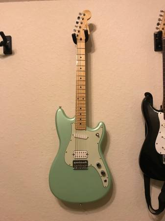 Fender Duo-Sonic Surf Green