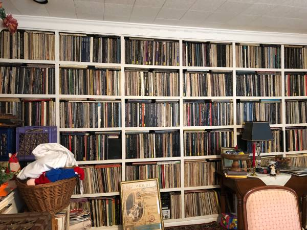 Thousands of Vinyl Records and CD's
