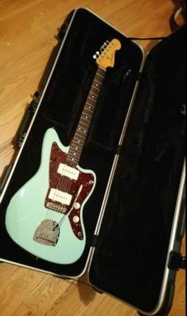 Fender Classic 60's Jazzmaster Lacquer Surf Green UPGRADES