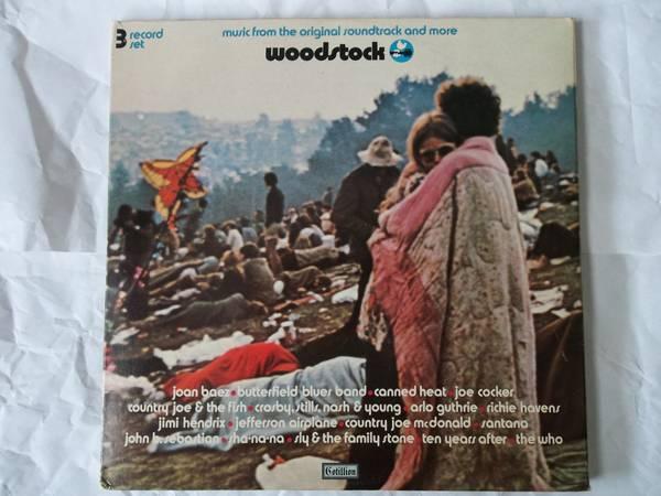 WOODSTOCK 3 RECORD SET, Cotillion Records SD 3-500, Gatefold, 1970