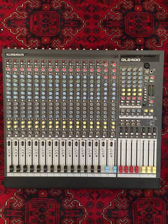 ALLEN & HEATH GL2400-416 MIXER