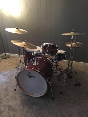 Gretch Kit – Like New – Zildjian Cymbals