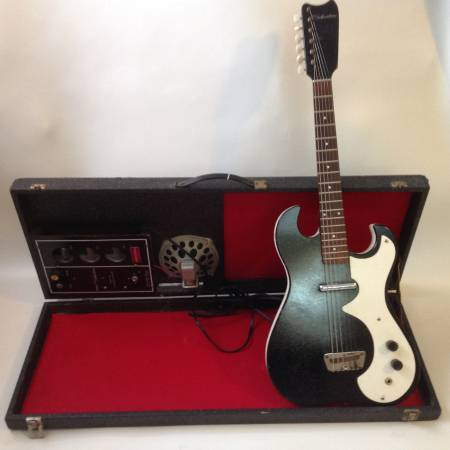 Silvertone 1448 With Case Amp 60's