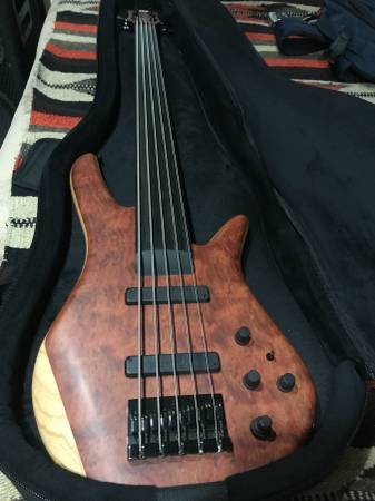 Zon Sonus Custom 519 bass guitar