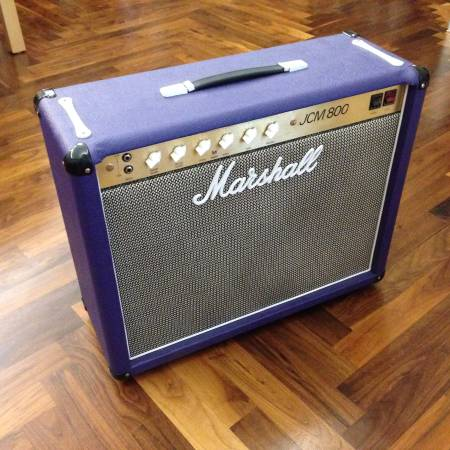 1983 Marshall 50w JCM 800 2×12″ Greenback Combo Amp