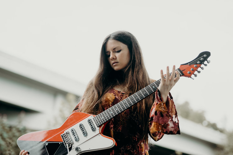 """MMS Presents: An Interview With Two Tone Guitar Queen Arielle, & A Breakdown of Her Album """"Suspension/Dimension"""""""