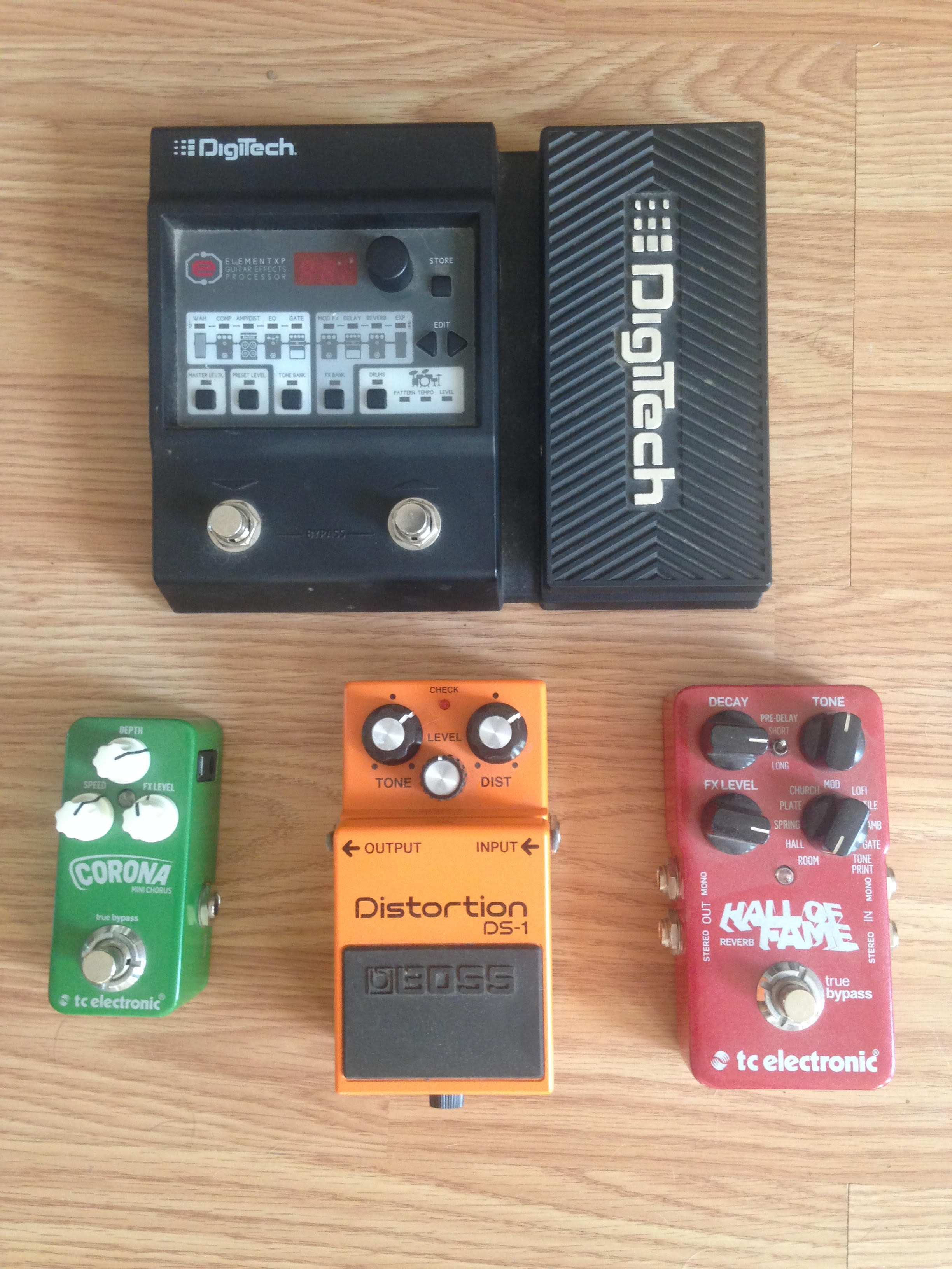 Pedal Assortment For Sale
