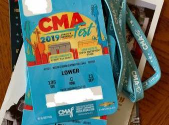 CMA MUSIC FEST June 6-9th Two (2) 4-day Passes!!!