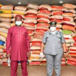 Customs Counters Makinde's Claims, Says 1,800 Bags Of Rice Released As Palliative In Good Condition