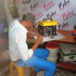 A Nigeria Man From Rivers State Ikwerre Local Government Area Crafts Cake like a Generator  One word for him ..