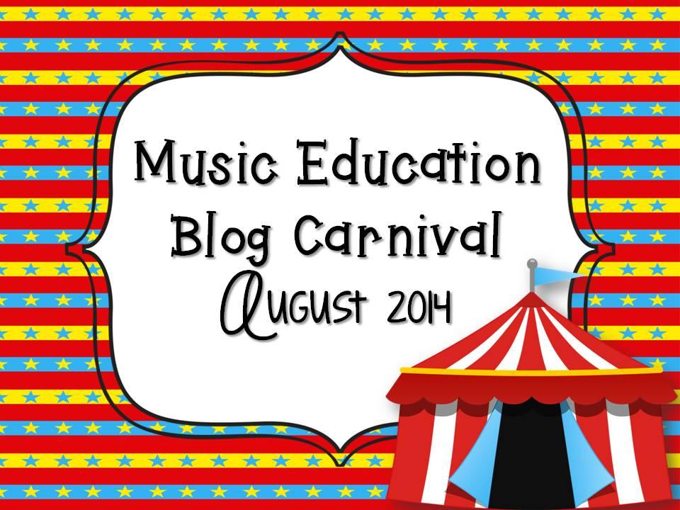 August 2014 Music Education Blog carnival
