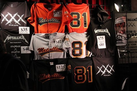 quality design 5a449 cac91 MusicNewsTidBits.com » Blog Archive » Metallica SF Giants ...